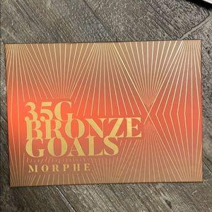 Morphe 35 G bronze goals pallet